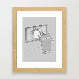 New Profile Picture Framed Art Print