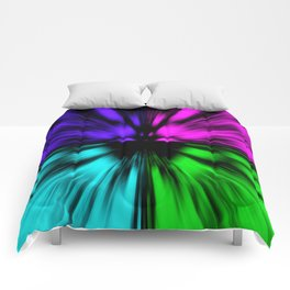 Warp Factor 4 Comforters
