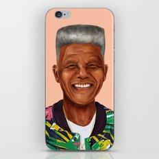 Hipstory - Nelson Mandela iPhone & iPod Skin