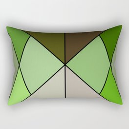 Mosaic tile Rectangular Pillow