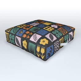 Shapes & Plants VI Outdoor Floor Cushion