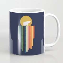 Polar bear on ice cream Coffee Mug