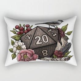Druid Class D20 - Tabletop Gaming Dice Rectangular Pillow