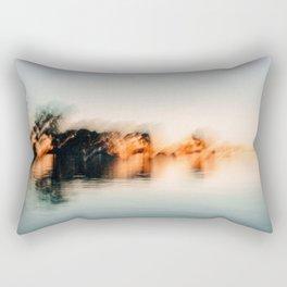 Late Summer Abstract #2 Rectangular Pillow