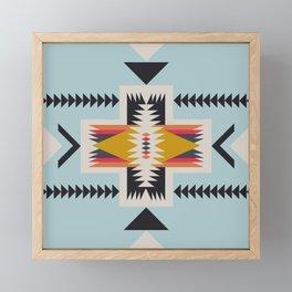 hammock nap Framed Mini Art Print