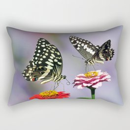Swallow tail  or Christmas Butterfly Rectangular Pillow