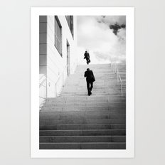 Climbing Higher Art Print
