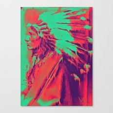 Melting Coyote Canvas Print