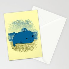 Why such a lonely beach? Stationery Cards