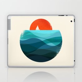 Deep blue ocean Laptop & iPad Skin