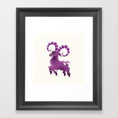 Aries! Framed Art Print