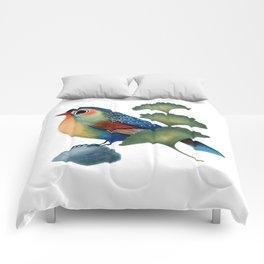 Ginkgo Bird Comforters