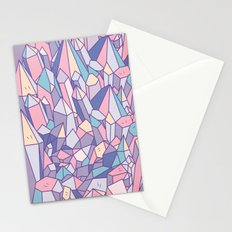 crystal heart ♥ Stationery Cards