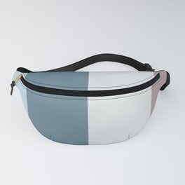 Parable to Behr Blueprint Color of the Year and Accent Colors Vertical Stripes 7 Fanny Pack