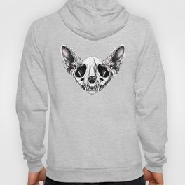 Shynx Half Skull Pattern Hoody