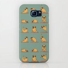 Pug Yoga Slim Case Galaxy S8