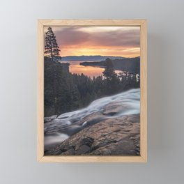Lake Tahoe Sunrise Framed Mini Art Print