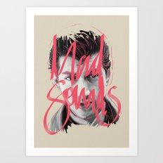 Mad Sounds Art Print