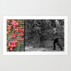 then just for a moment... I would materialise Art Print