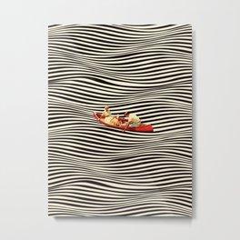Illusionary Boat Ride 2 Metal Print