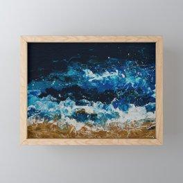 Stormy Framed Mini Art Print