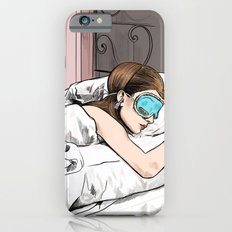 Holly Golightly the cat with no name - Audrey Hepburn in Breakfast at Tiffany's Slim Case iPhone 6s