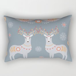 Nordic Winter Rectangular Pillow