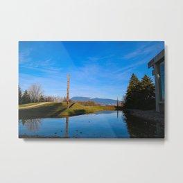 light, shadow, reflection Metal Print
