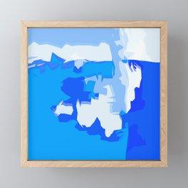 Re Ocean Framed Mini Art Print