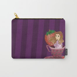 Tea Cup Girls - Wildberry Carry-All Pouch