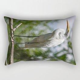 Great Egret - Utah Rectangular Pillow