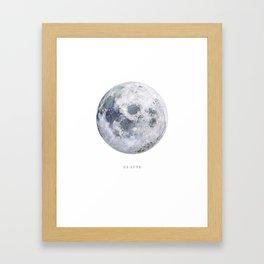 La Lune Framed Art Print