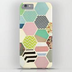 Florals and Stripes Slim Case iPhone 6s Plus