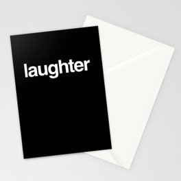 Laughter Stationery Cards