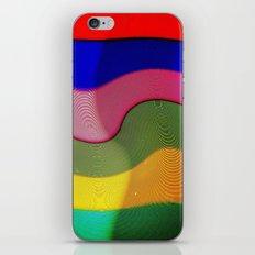 Franjas y rayas iPhone & iPod Skin