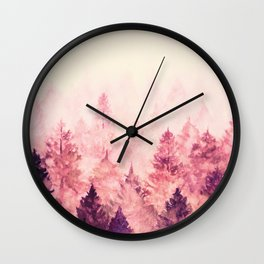 Fade Away III Wall Clock