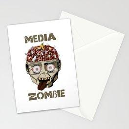 Media Zombie Stationery Cards