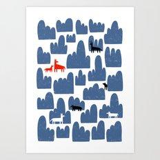 Animal World Art Print