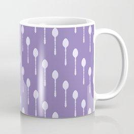 Spoons Pattern (Lavender) Coffee Mug