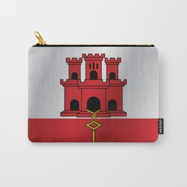 Flag of Gibraltar Carry-All Pouch