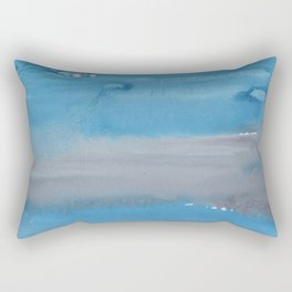 20    1903011 Watercolour Abstract Painting   Muted Colours Rectangular Pillow