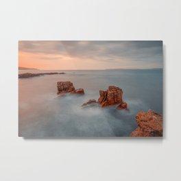 The Pans Rock ,Ballycastle , Co Antrim, Northern Ireland Metal Print