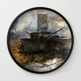Hollow Ocean Wall Clock
