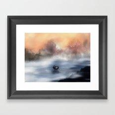 The Lake of Tranquility Framed Art Print