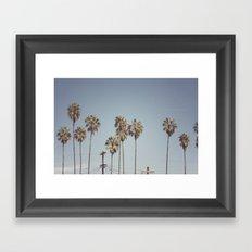Lines + Lines + Lines   Highland Park, Los Angeles Framed Art Print