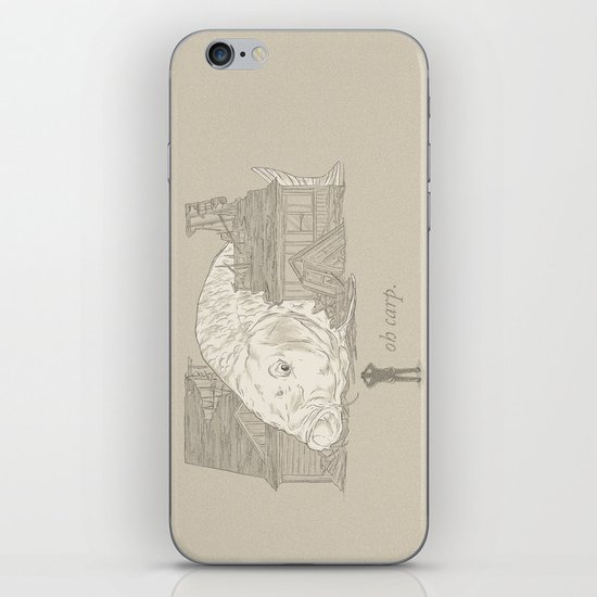 Oh carp. iPhone & iPod Skin