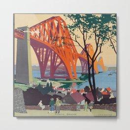 Fourth Bridge Metal Print