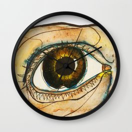 eye of the tireder Wall Clock