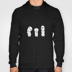 Three wise Kodamas Hoody