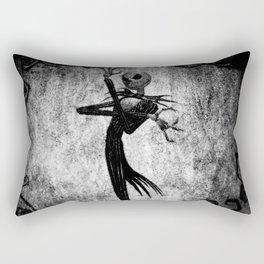 Jack Art Style Rectangular Pillow